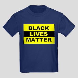 Black Lives Matter Kids Dark T-Shirt