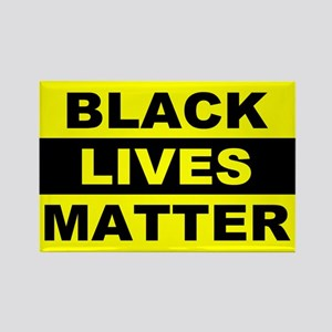 Black Lives Matter Rectangle Magnet