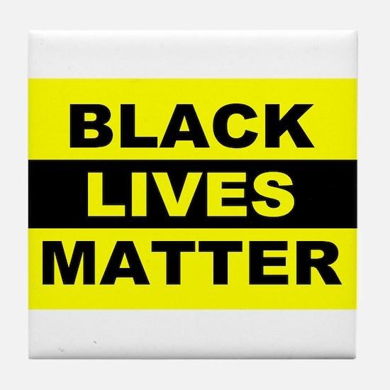 Black Lives Matter Tile Coaster