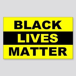 Black Lives Matter Sticker (Rectangle)