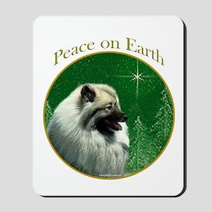 Keeshond Peace Mousepad