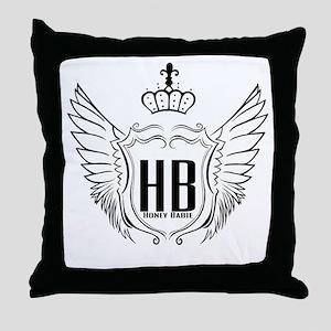 Hb Throw Pillow
