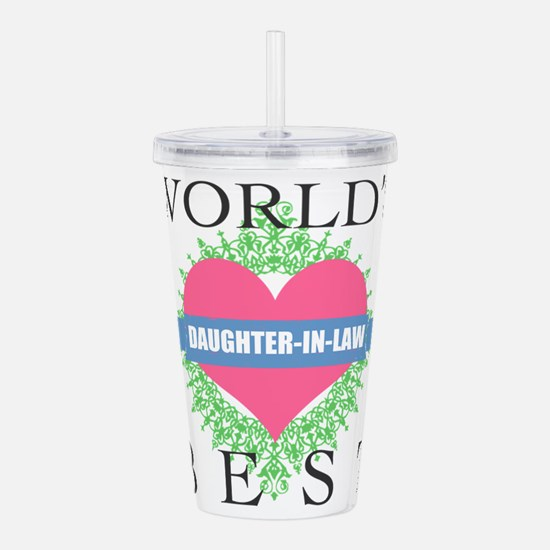 World's Best Daughter- Acrylic Double-wall Tumbler