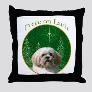 Lhasa Peace Throw Pillow