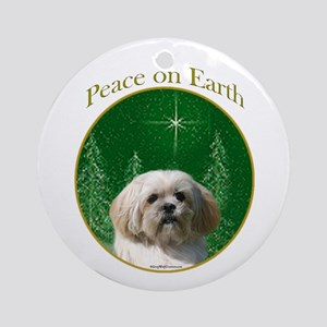 Lhasa Peace Ornament (Round)
