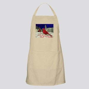 Red Cardinal Light Apron