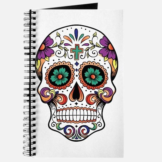 Funny Sugar skull Journal