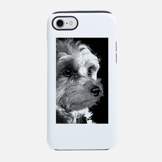 Cute Mixed breed iPhone 8/7 Tough Case