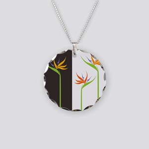 Bird of Paradise Flowers Necklace