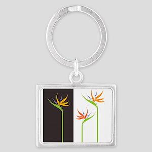 Bird of Paradise Flowers Keychains