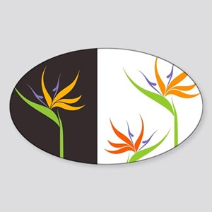 Bird of Paradise Flowers Sticker