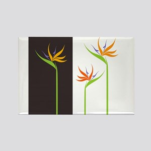 Bird of Paradise Flowers Magnets