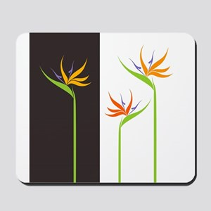 Bird of Paradise Flowers Mousepad