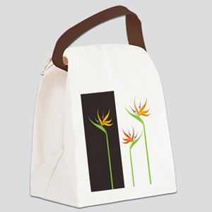 Bird of Paradise Flowers Canvas Lunch Bag