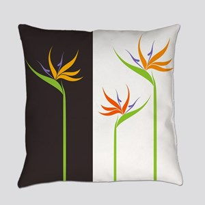 Bird of Paradise Flowers Everyday Pillow