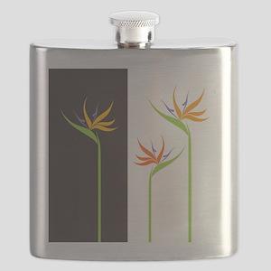 Bird of Paradise Flowers Flask