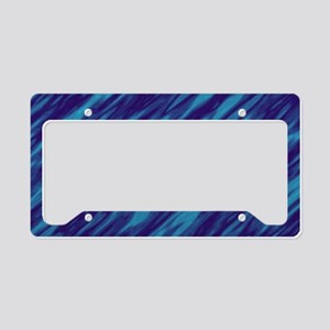 Shades of Blue License Plate Holder