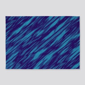 Shades of Blue 5'x7'Area Rug