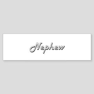 Nephew Classic Retro Design Bumper Sticker