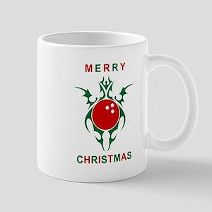 merry christmas bowling Mugs