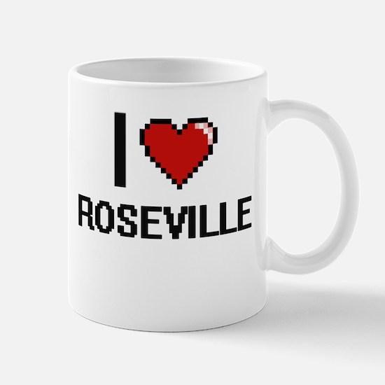 I love Roseville Digital Design Mugs