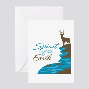 Spirit of the Earth Greeting Card