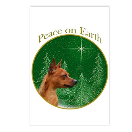 Min Pin Peace Postcards (Package of 8)
