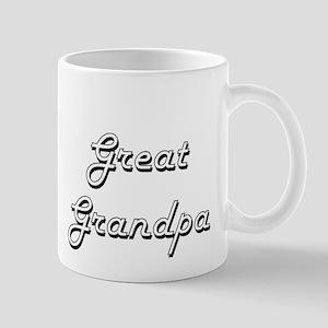 Great Grandpa Classic Retro Design Mugs