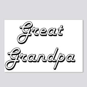 Great Grandpa Classic Ret Postcards (Package of 8)