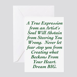 An Artist's Soul Greeting Cards