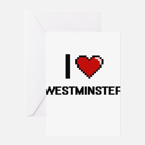 I love Westminster Digital Design Greeting Cards