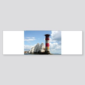 The Needles Lighthouse, England Bumper Sticker