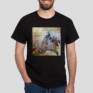 paris orchid birdcage peacock T-Shirt