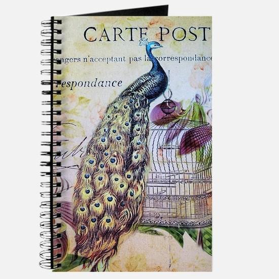 paris orchid birdcage peacock Journal