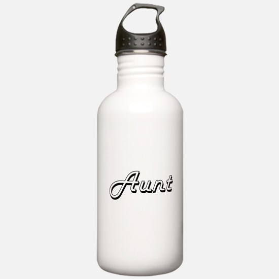 Aunt Classic Retro Des Water Bottle