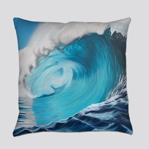 New Wave by Alexa's Makin' Waves Everyday Pillow