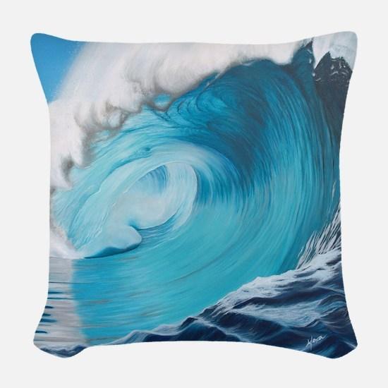 New Wave by Alexa's Makin' Wav Woven Throw Pillow