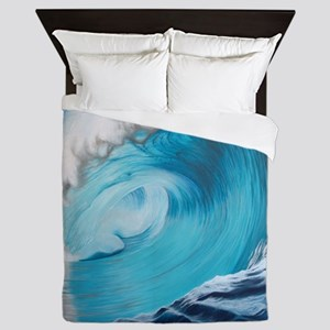 New Wave by Alexa's Makin' Waves Queen Duvet