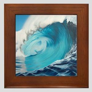 New Wave by Alexa's Makin' Waves Framed Tile