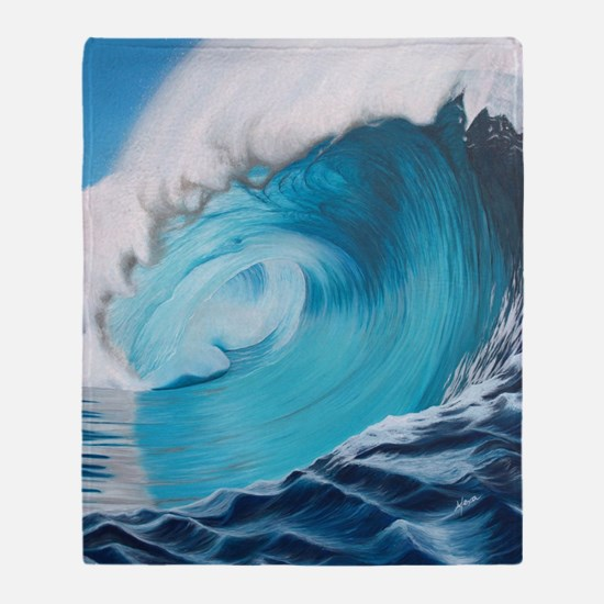 New Wave by Alexa's Makin' Waves Throw Blanket