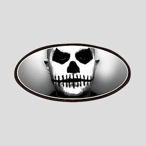 Scary Halloween Skull Head Patch