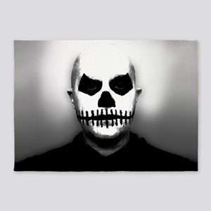 Scary Halloween Skull Head 5'x7'Area Rug