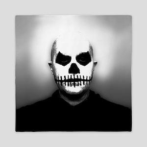 Scary Halloween Skull Head Queen Duvet