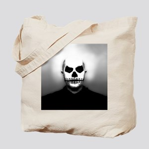 Scary Halloween Skull Head Tote Bag