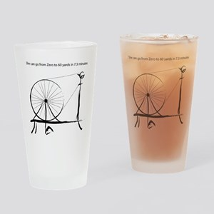 0_to_60blck2 Drinking Glass