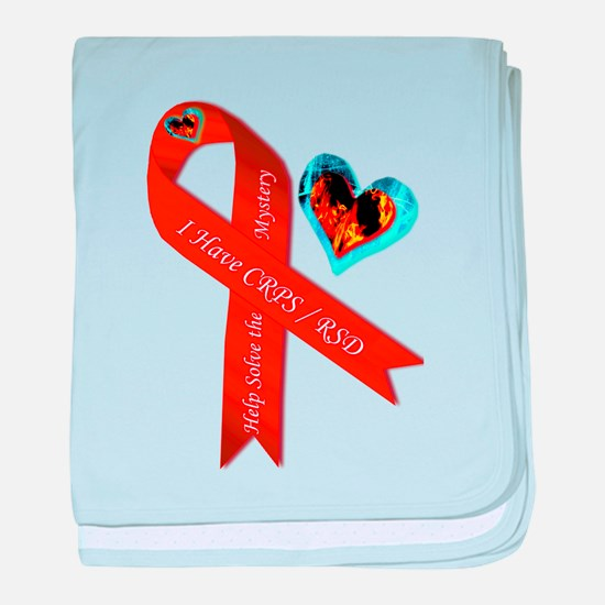 I Have CRPS Solve the Mystery Ribbon baby blanket
