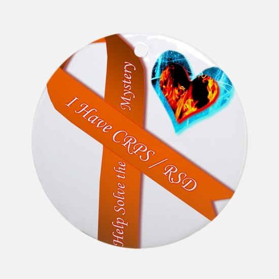 I Have CRPS Solve the Mystery Ribbo Round Ornament