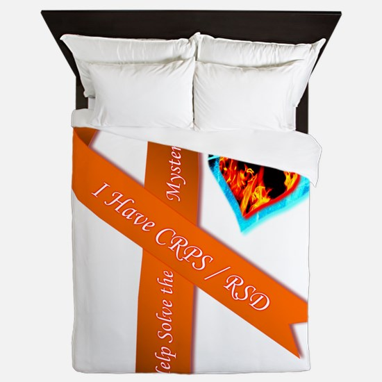 I Have CRPS Solve the Mystery Ribbon Queen Duvet