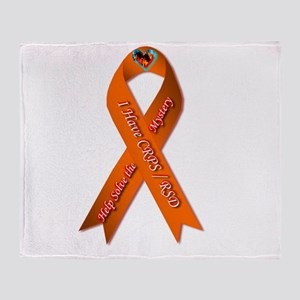 I have CRPS Fire & Ice Heart Ribbon Throw Blanket