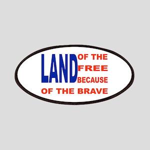 Brave Flag Patch